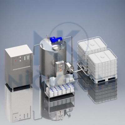 Dezenfektan sıvı üretim ünitesi