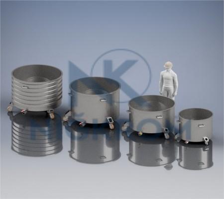 Dissolver Mixer Hazneleri