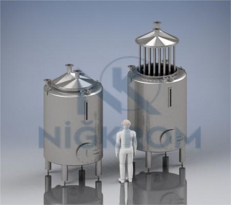 Reaktör tipi Paslanmaz Tank